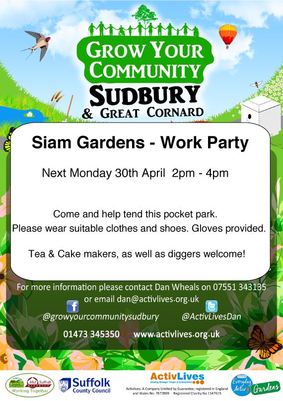 Siam Gardens Work Party… | greenersudbury