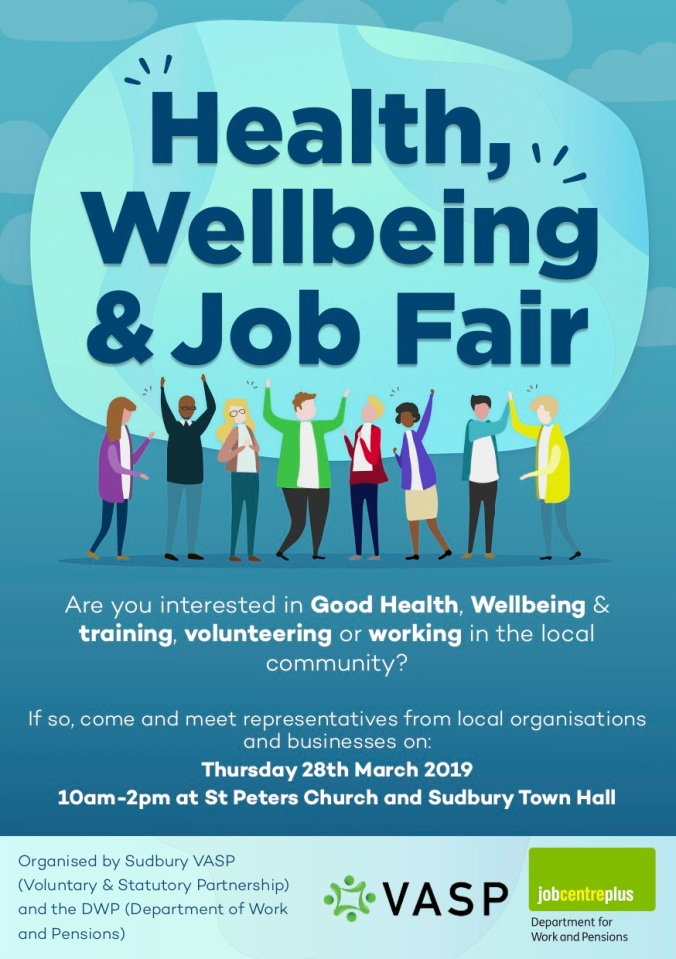 Health Wellbeing Job Fair Poster copy